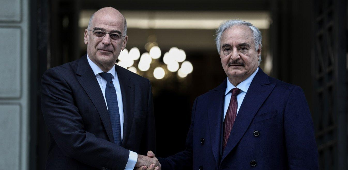 SYRIZA's thoughts on Haftar's visit to Athens
