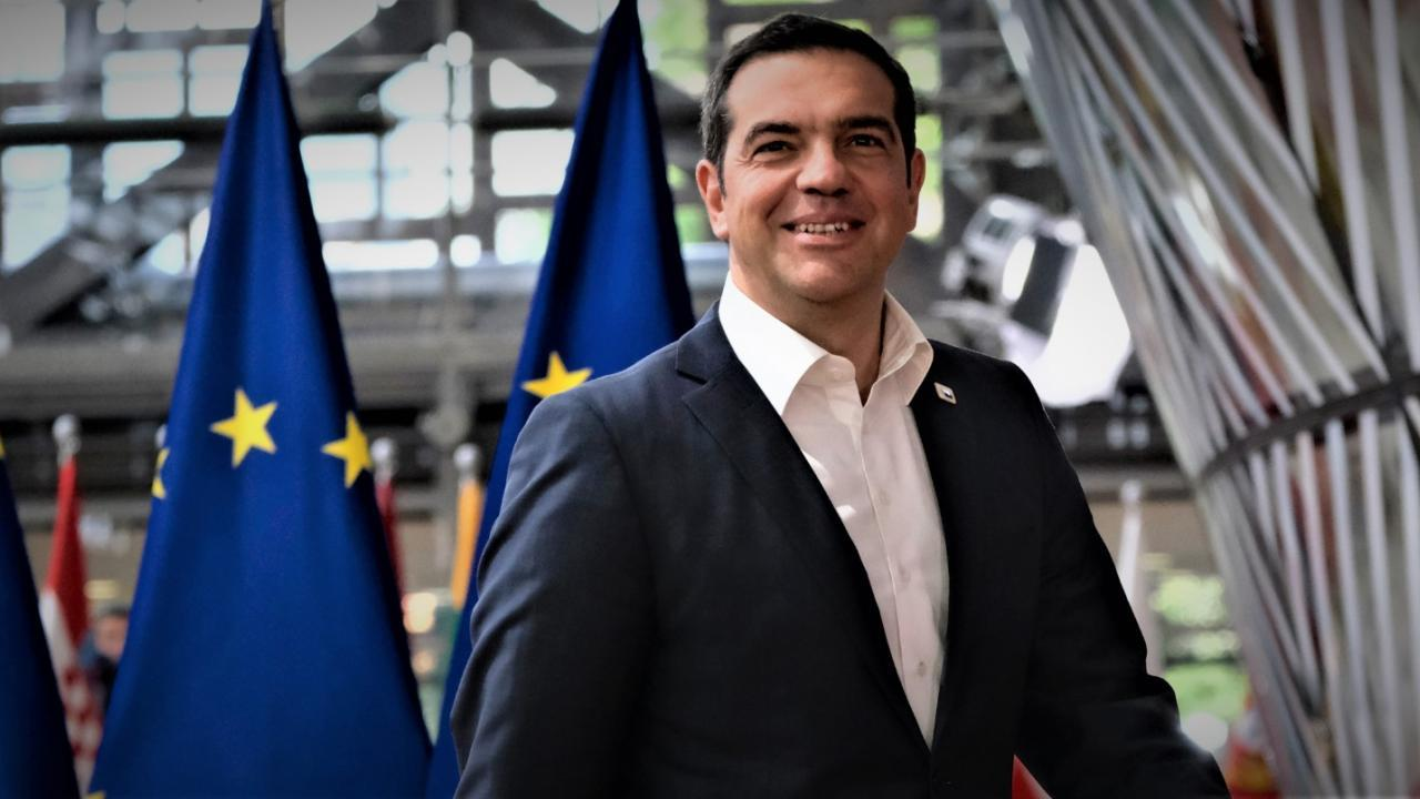 Tsipras moving around Europe looking to get Greece involved in the upcoming initiatives on the Libyan crisis