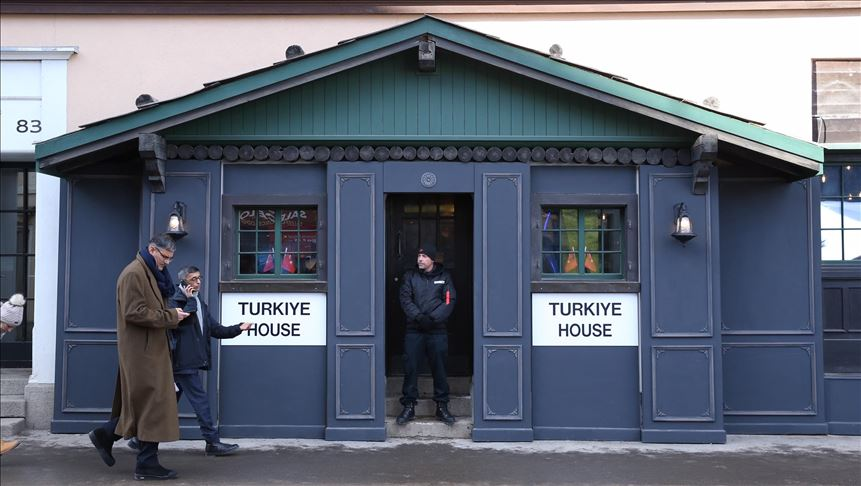 Turkey is promoting its presence in Davos