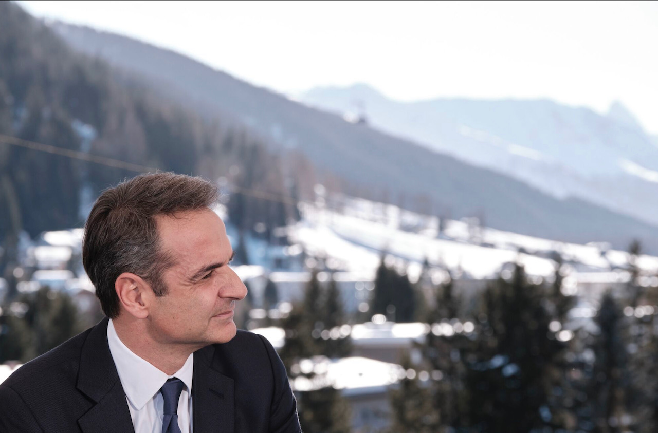 Mitsotakis meets with German Minister of Defense and French Minister of Finance