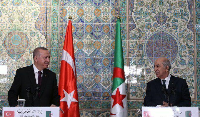 Erdogan: Algeria is one of the major gateways for Turkey in Africa