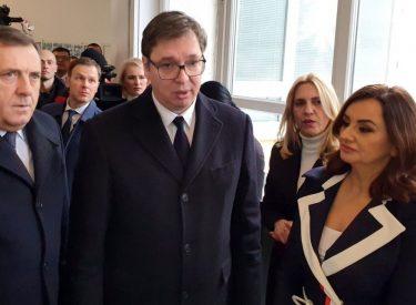 Vučić attends opening of factory in Drvar