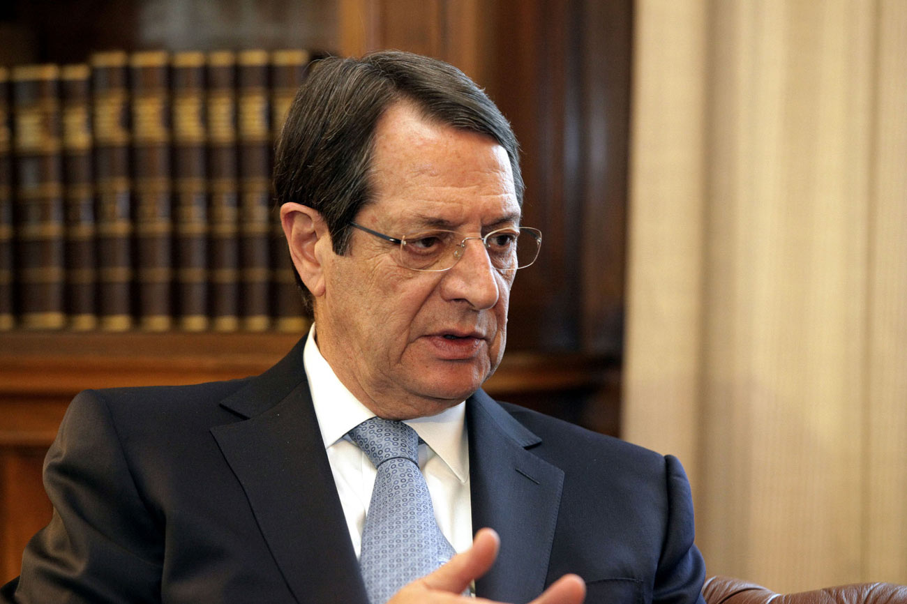 Anastasiades says he is ready for an informal meeting to set the conditions for a creative dialogue