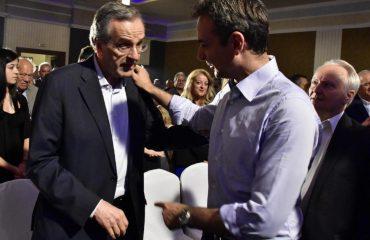 Samaras causes new headache to Mitsotakis
