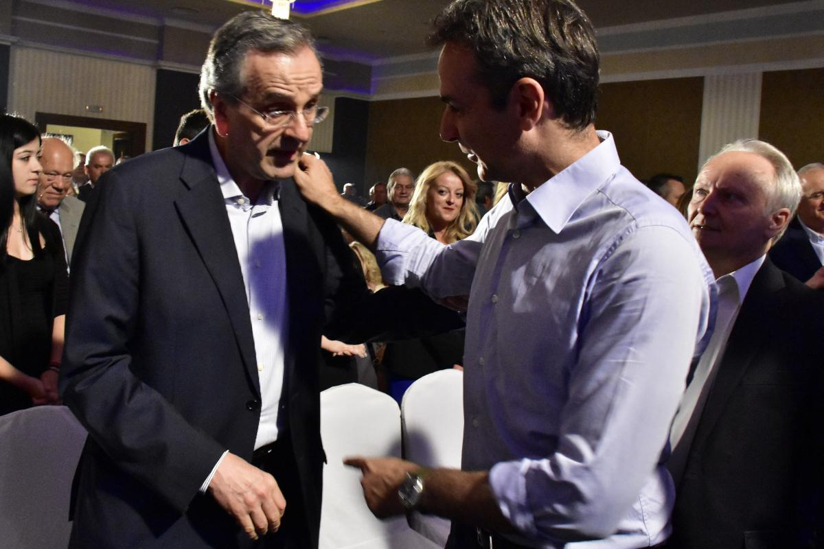 Samaras causes new headache to Mitsotakis