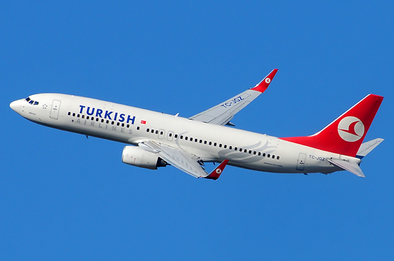Turkish Airlines suspends its flights to China