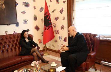 Edi Rama met with US Ambassador in Albania