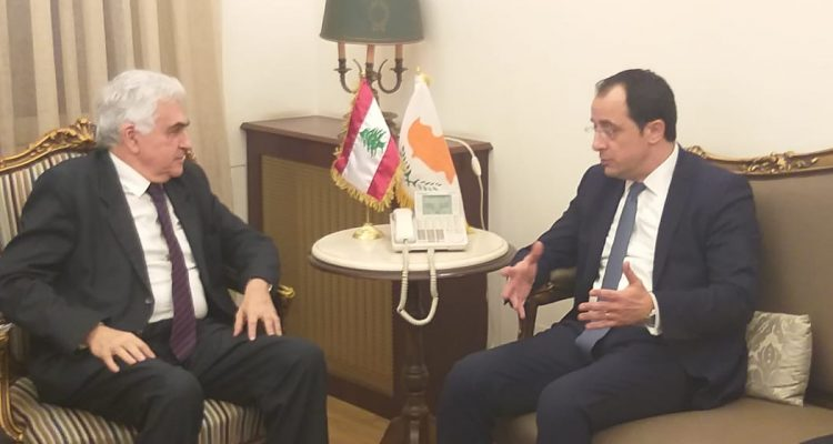 Christodoulides: The first trilateral meeting between Cyprus, Lebanon, Greece will be held in spring