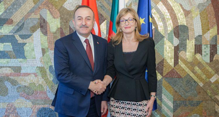 Cavusoglu and Zaharieva discuss deepening of bilateral cooperation in Sofia