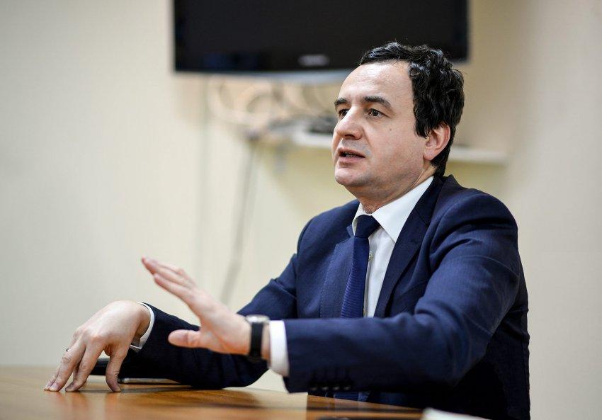 Kosovo's Parliament elects Vetevendosje leader Albin Kurti as Prime Minister