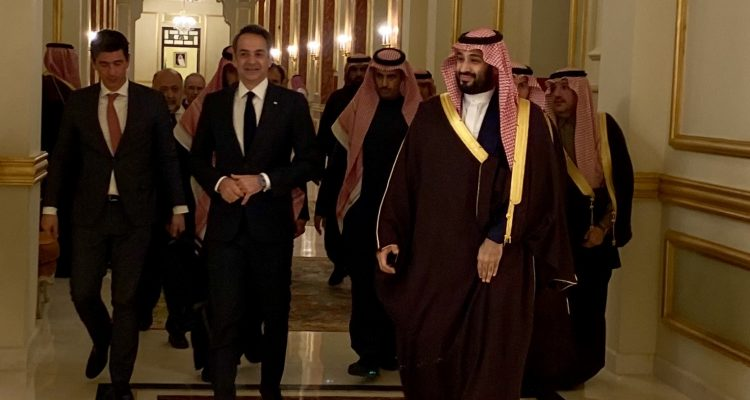 Mitsotakis holds contacts in Saudi Arabia amidst positive climate