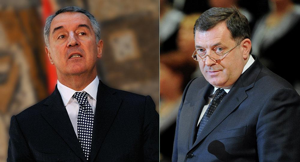 "Dodik said ""NO"" to Milo Đukanović's visit"