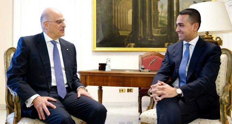 Dendias-Di Maio meeting – The Turkish-Libyan Memoranda are illegal and unfounded