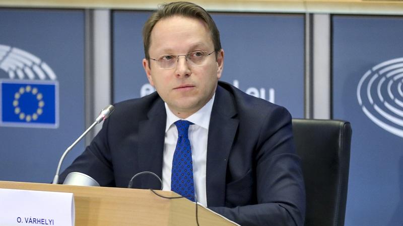 EU Enlargement Commissioner Olivér Várhelyi is visiting Serbia