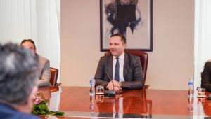 North Macedonia: Spasovski meets with Election Commission