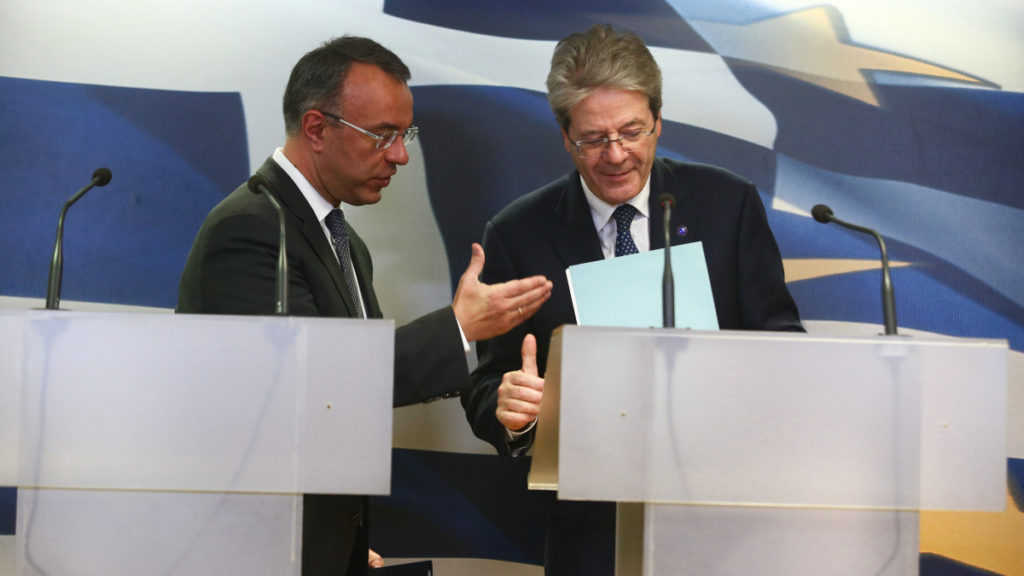Gentiloni: The change of use for ANFA-SMP profits could happen in June