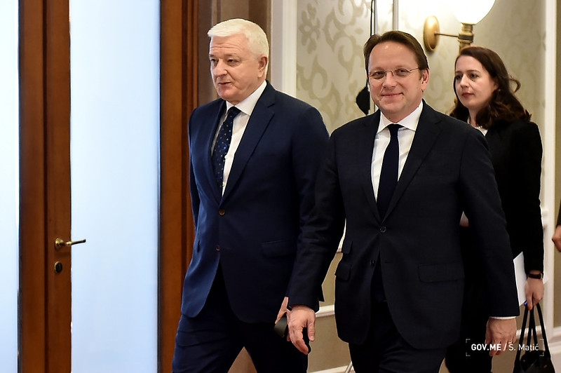 Marković – Várhelyi: Montenegro can only succeed in European integration if we all work in this direction