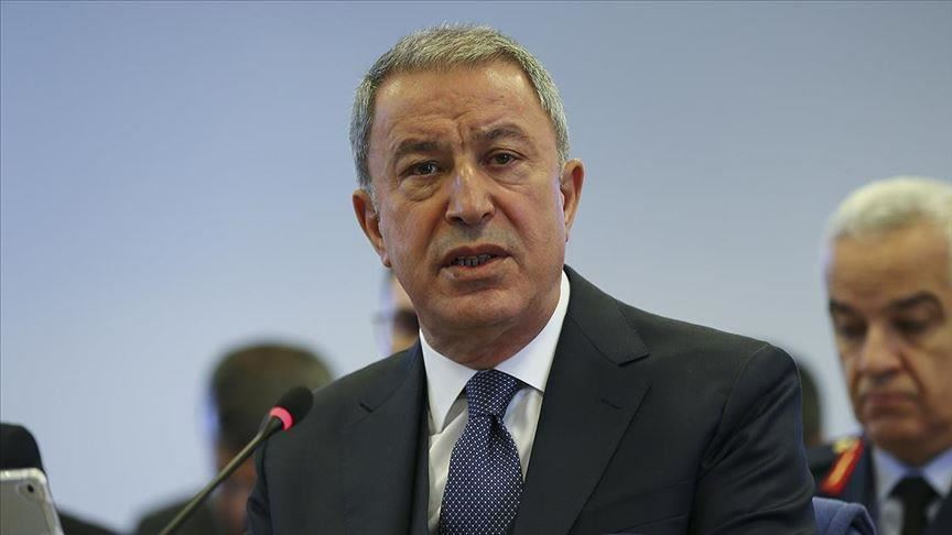 Akar throws accusations at Greece just days before the CBM talks!