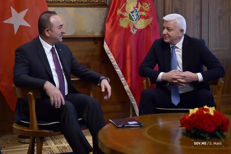 Çavuşoğlu: Turkey and Montenegro have an excellent cooperation