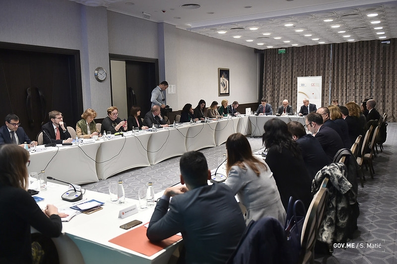 Darmanović opened the Committee of National Coordinators of the CEI Member States session