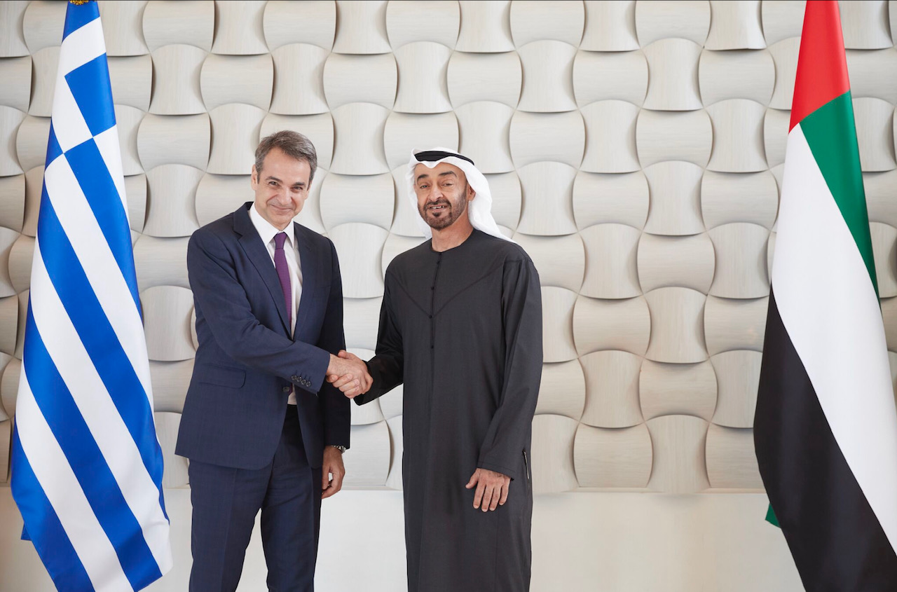Greece: Greece-UAE Enlarged Strategic Cooperation Forum to take place in Athens on Wednesday