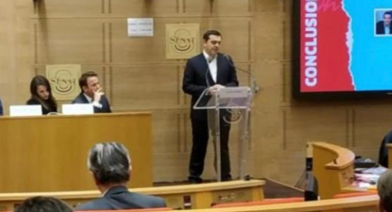"""Tsipras: """"EU cannot acquire a dynamic international geopolitical role if it is not credible in its own neighborhood"""""""