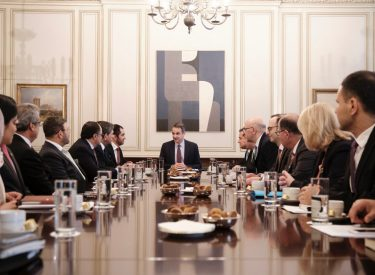 Greece: Mitsotakis meets with UAE Minister of State