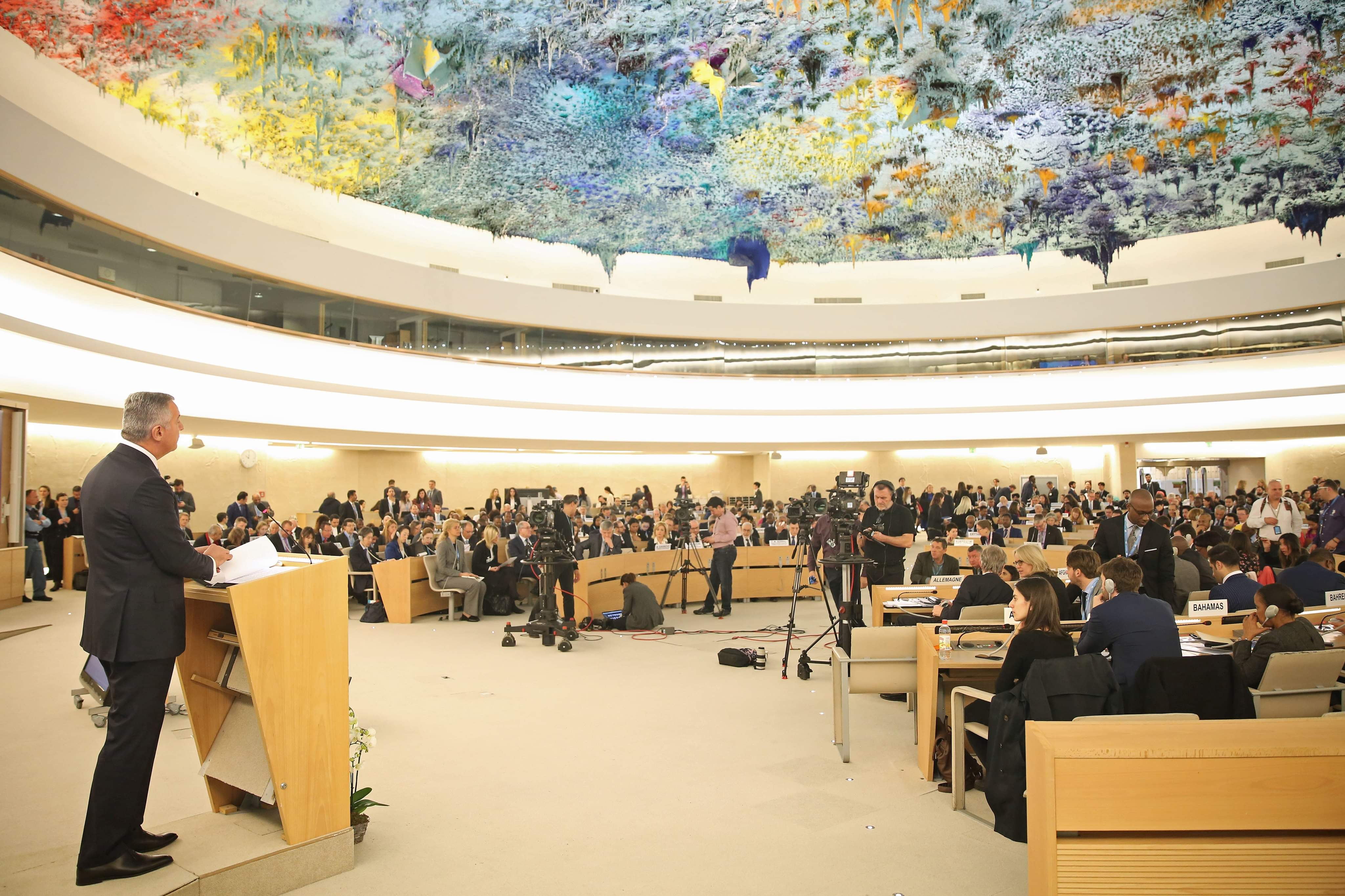 Đukanović at the 43rd session of the Human Rights Council: Montenegro is under attack