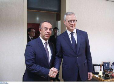 Staikouras meets Le Maire: The economic impact of coronavirus raises concern