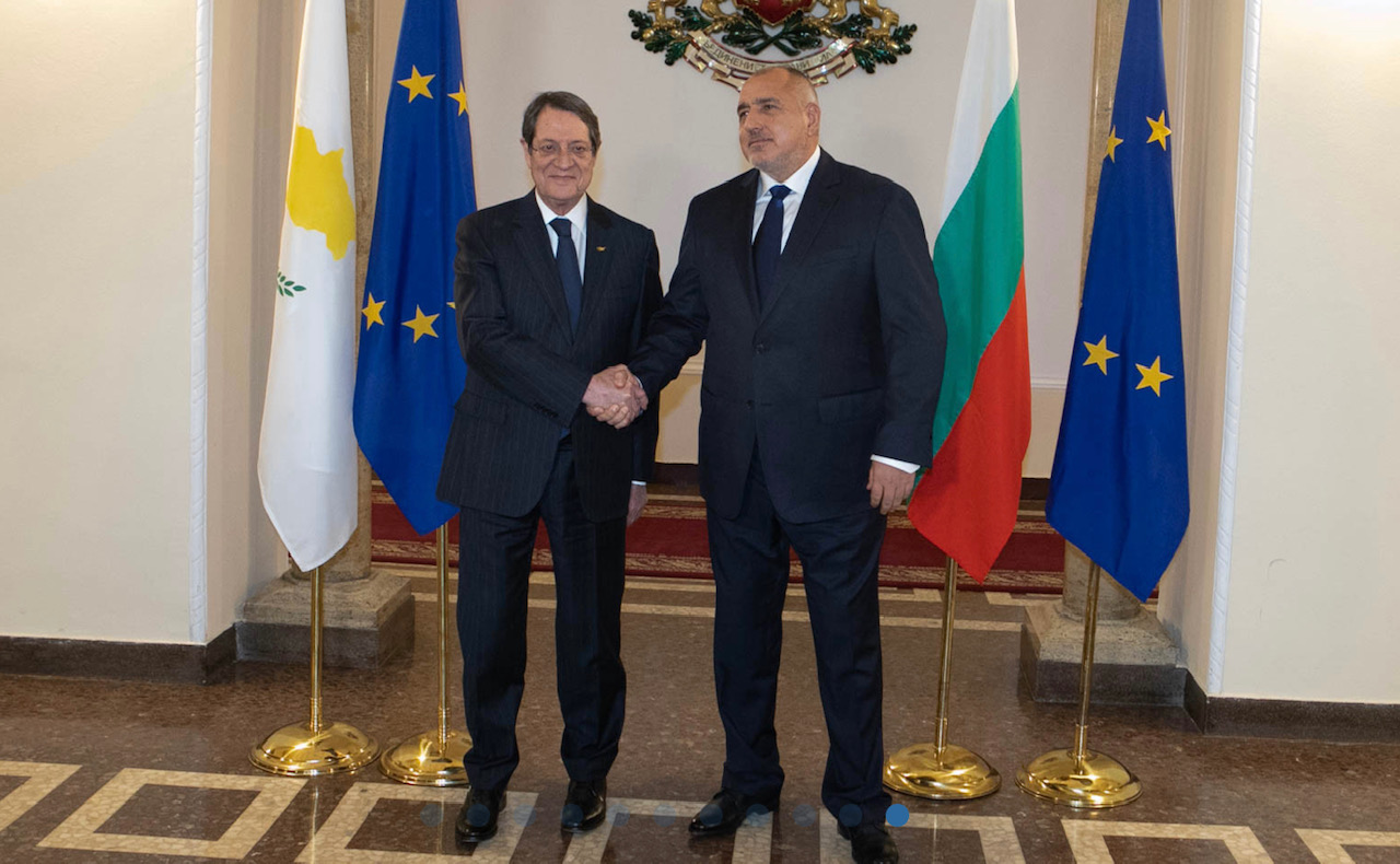 Bulgaria: Anastasiades and Borissov discuss strengthening of Cyprus-Bulgaria relations