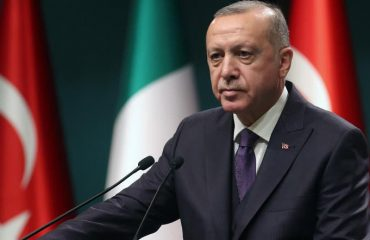 """Erdogan: """"Our biggest difficulty is that we cannot use the airspace in Idlib"""""""