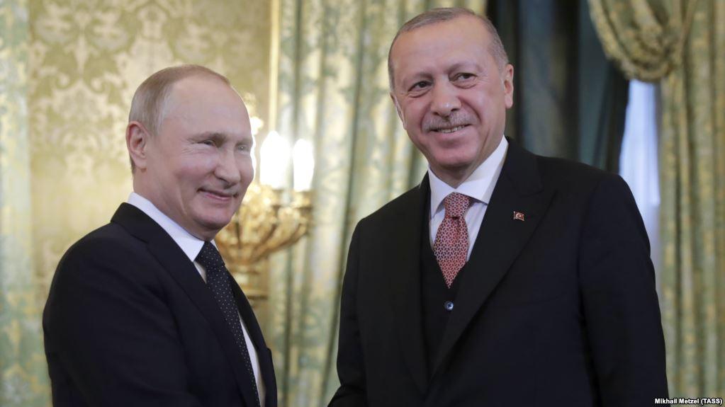 Turkey: Erdogan and Putin to meet in Moscow on Thursday