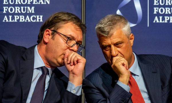 Vucic, Thaci hold meeting in Washington