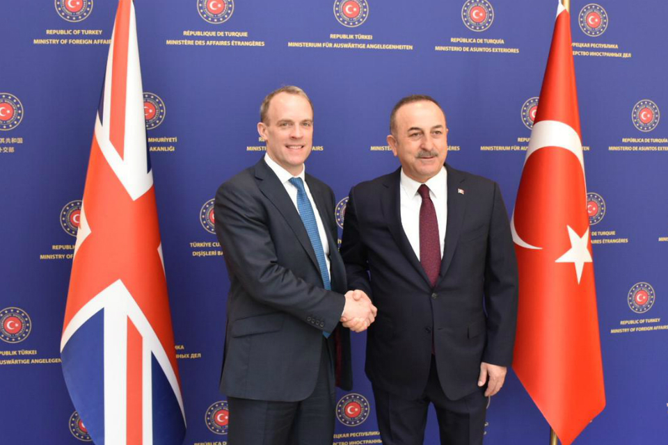 UK offers full support to Turkey over Idlib