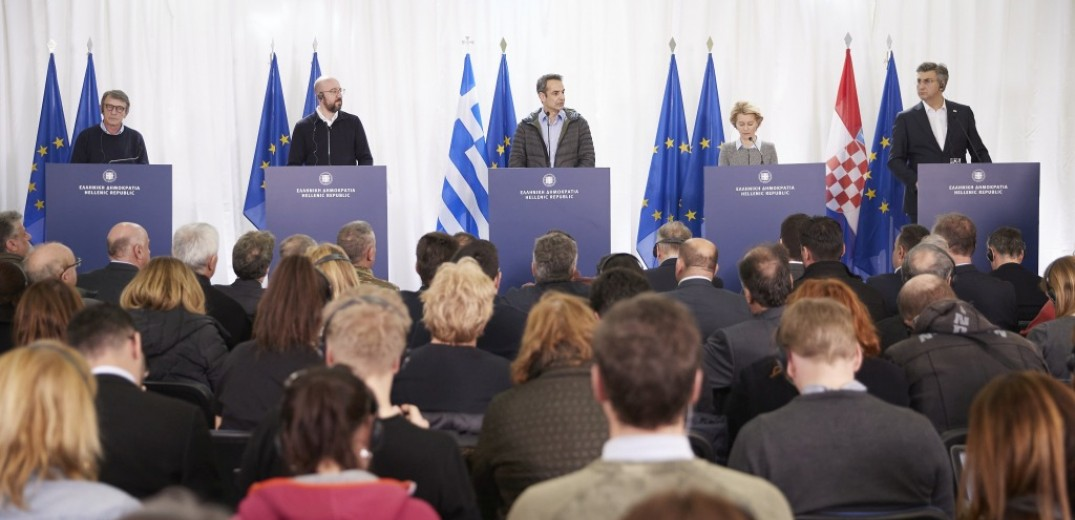 Athens secures support amid border crisis