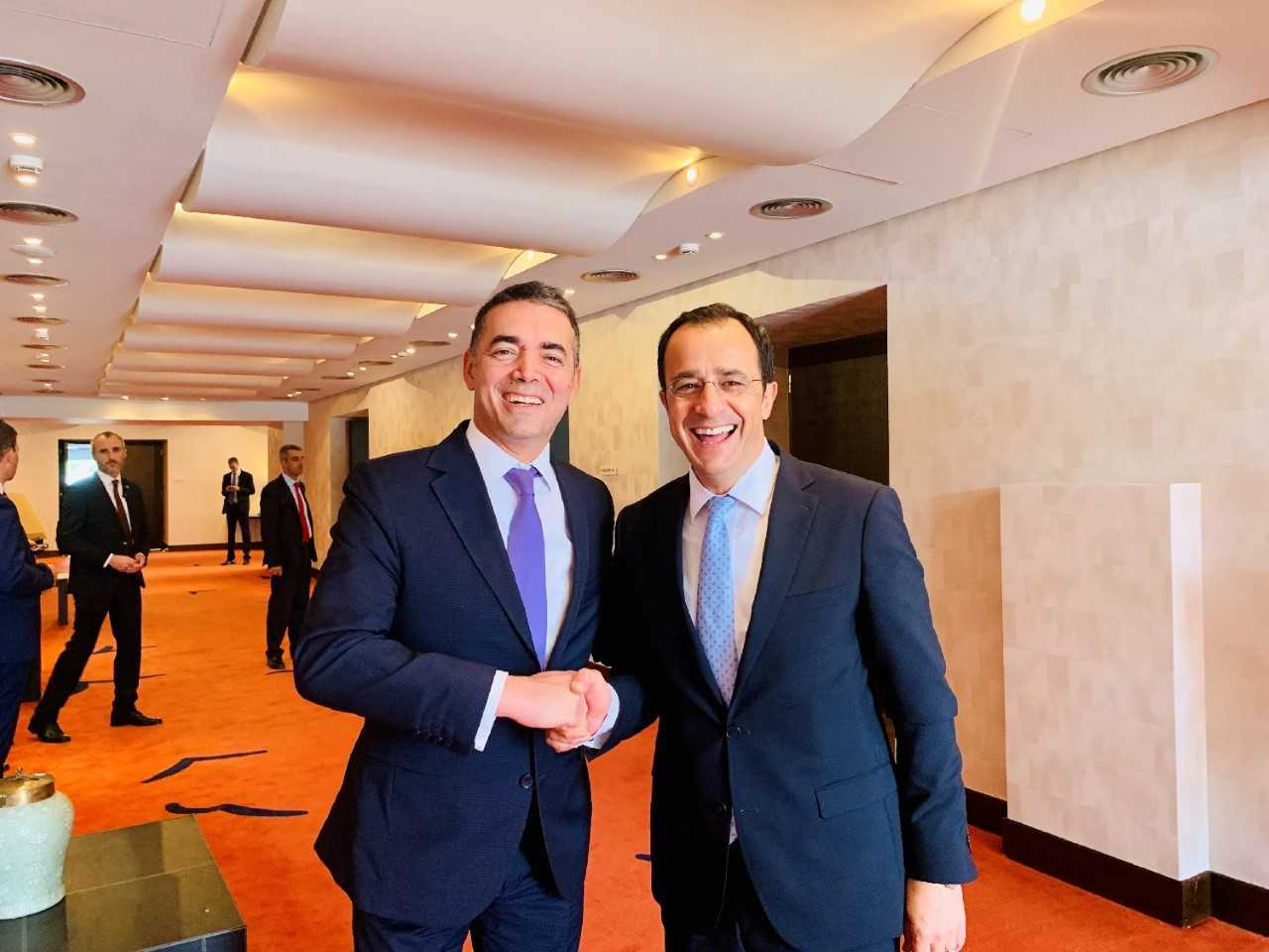 Cyprus: Christodoulides on an official visit in North Macedonia