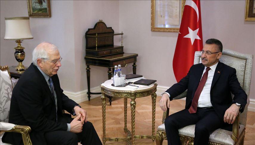 Turkey: Borrell and Oktay meet