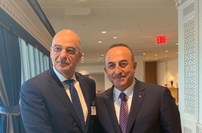 "Cavusoglu to Densias: ""Have you seen this?"""