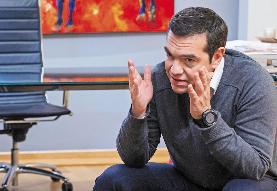 Tsipras-Mitsotakis meeting to take place via teleconference, due to coronovirus measures
