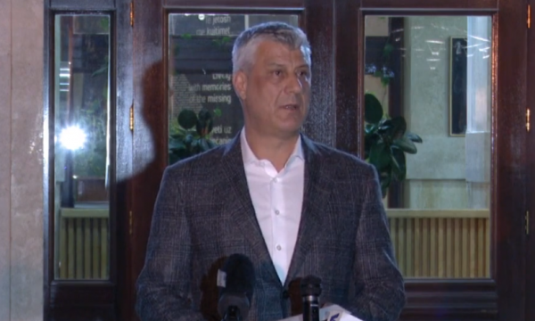 Kosovo: Thaçi declares the country in a state of emergency