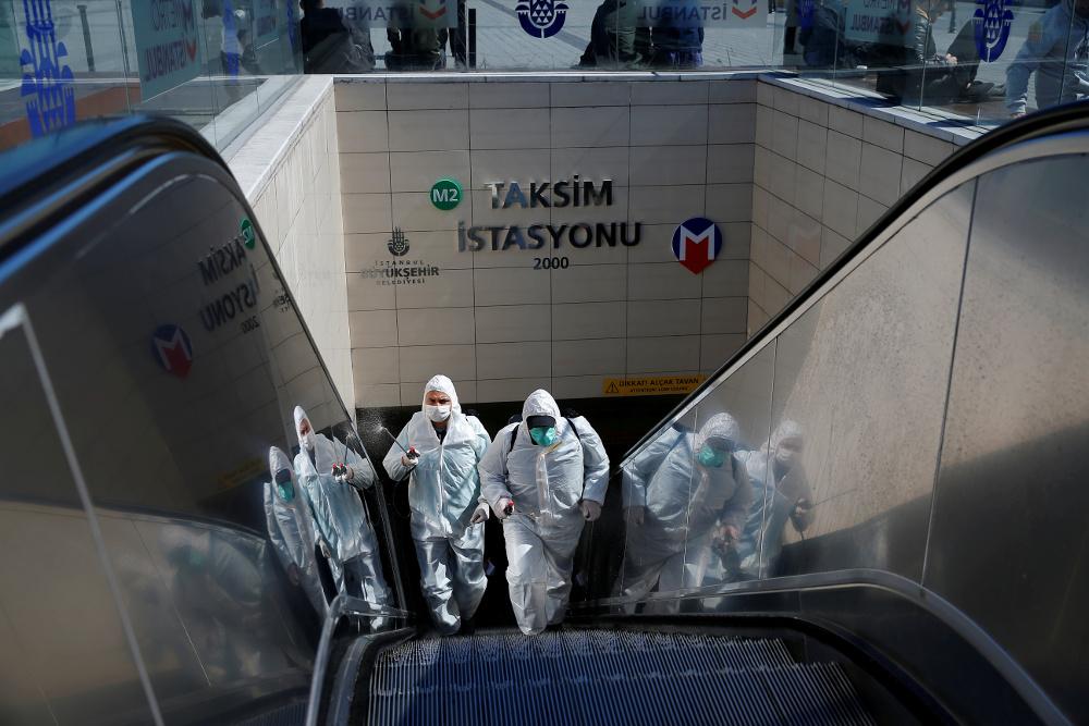 Coronavirus cases almost doubled overnight in Turkey