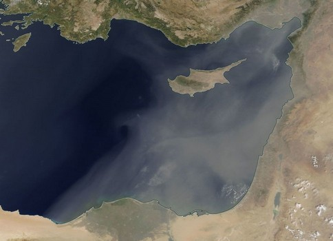 Cyprus: High concentration of dust was recorded in the atmosphere