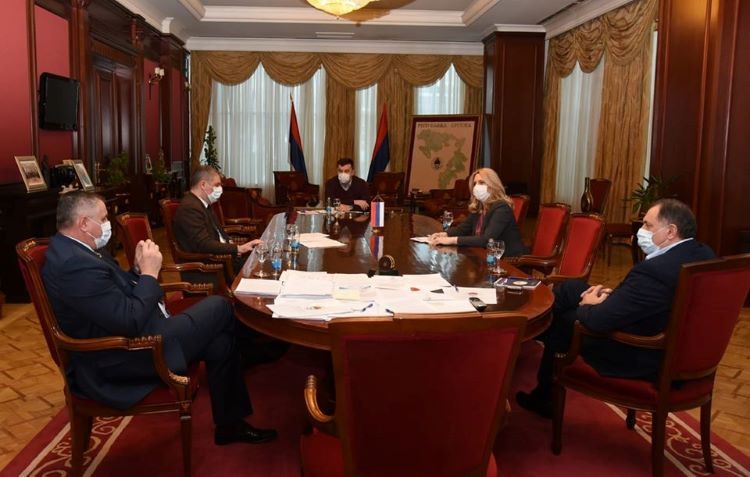 Republika Srpska prepares to introduce a state of emergency