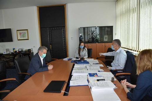 Radončić met with Sattler and Nelson to discuss the efects of the crisis