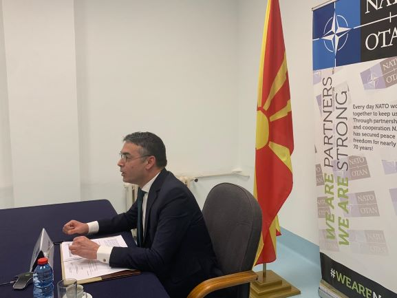 North Macedonia: First official appearance as a NATO member