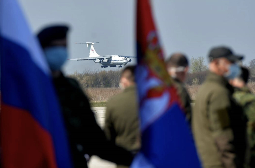 Serbia: Russian aid arrives to help combat the COVID-19 pandemic