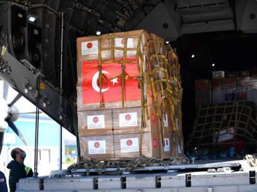 Turkish health aid arrives in North Macedonia