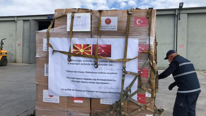 Turkey: Medical equipment dispatched across the Balkans