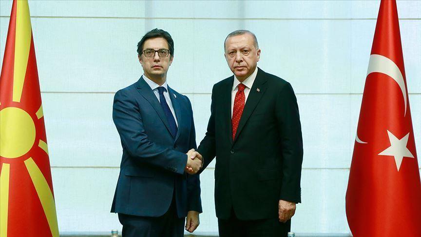 North Macedonia: Pendarovski contacts Erdogan
