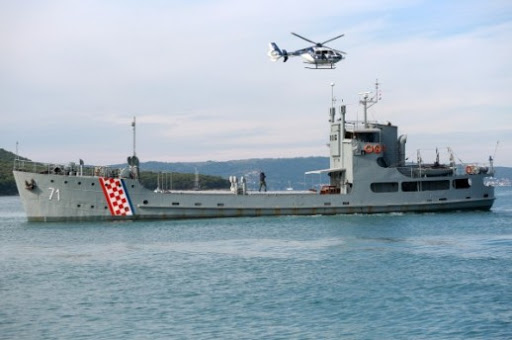 Croatian coastguard participates in FRONTEX operations in Greece